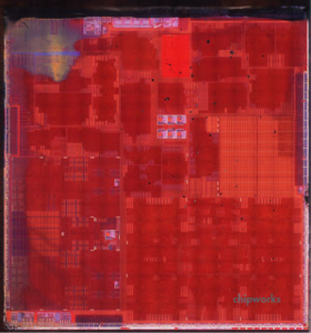 Transistor-Level Image of the Apple A7 (click to view full screen)
