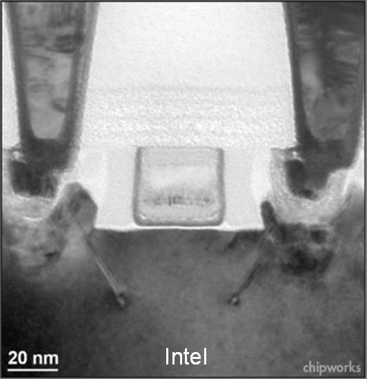 Fig. 2 Intel 32-nm NMOS Transistor