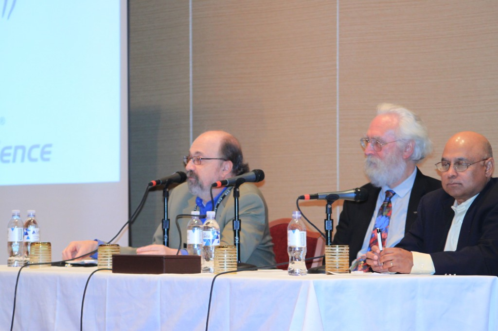 Left to right: Phil Garrou, Dick James, Gopal Rao