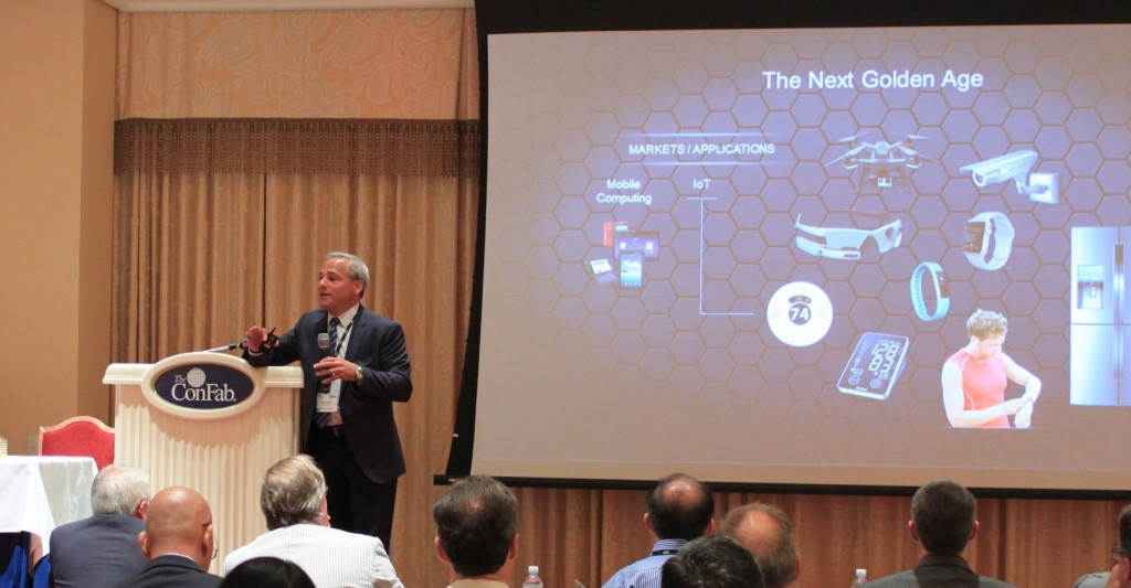 Tom Caulfield evangelizing the Next Golden Age of Semiconductors